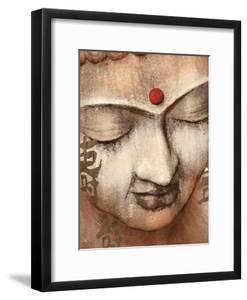 Serene Buddha by Raspin Stuwart