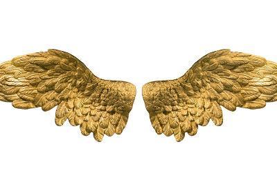 Raster Version of Golden Wings-Gilmanshin-Art Print