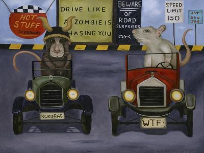 Rat Race #4-Leah Saulnier-Giclee Print