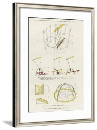 Rat Trap and Bird Traps and Snares--Framed Giclee Print