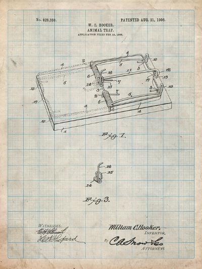 Rat Trap Patent Print-Cole Borders-Art Print