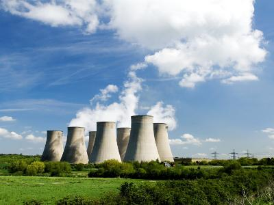 Ratcliffe on Soar Power Station, England-Martin Page-Photographic Print