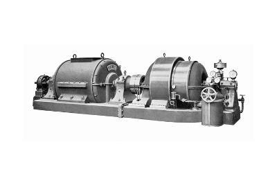 Rateau Steam Turbine And Generator-Mark Sykes-Giclee Print