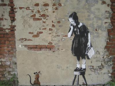 Ratgirl-Banksy-Giclee Print