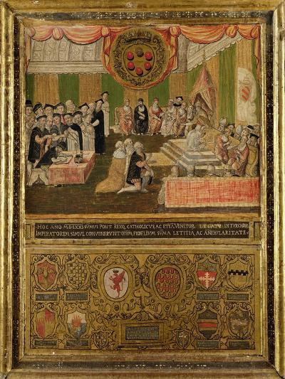 Ratification of the League Against the Turks, 1570-71--Giclee Print
