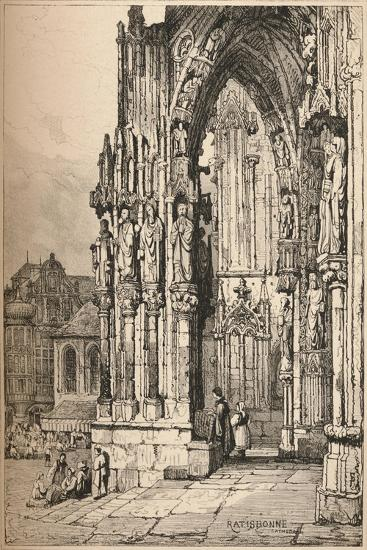 'Ratisbon', c1820 (1915)-Samuel Prout-Giclee Print