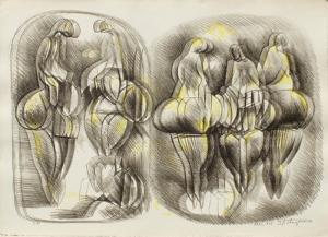 Etude de Femmes III by Raul Anguiano