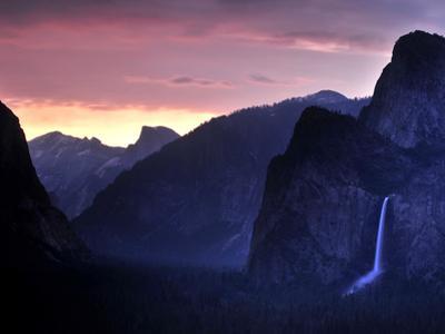 Bridalveil Fall at Sunrise by Raul Touzon