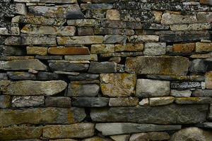 Close-Up of Viking Church Stone Wall by Raul Touzon