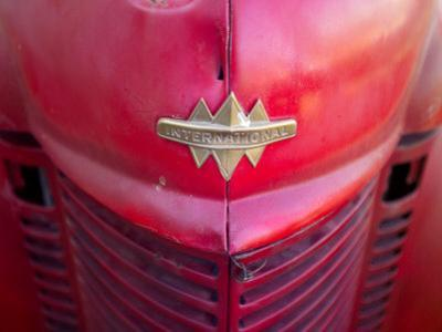 Detail View of an Old Fire Truck by Raul Touzon