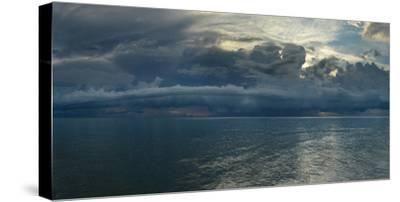Dramatic Sky Over The Gulf Of Mexico In Naples, Florida by Raul Touzon