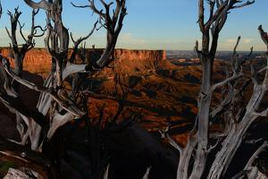 Green River Canyon at Sunset in Canyonlands National Park by Raul Touzon