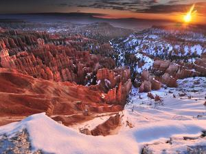 Hoodoos in Bryce Amphitheater by Raul Touzon