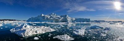 Iceberg Fields Near Ilulissat by Raul Touzon