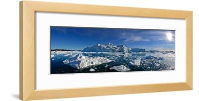 Iceberg Fields Near Ilulissat