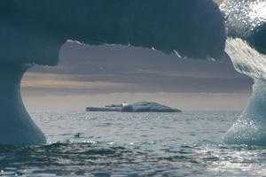 Icebergs, Nunavut and Northwest Territories, Canada by Raul Touzon