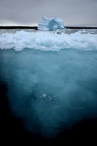 Large Icebergs in Scoresby Sound, Greenland by Raul Touzon