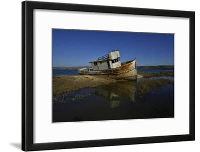 The Wreck of a Fishing Boat