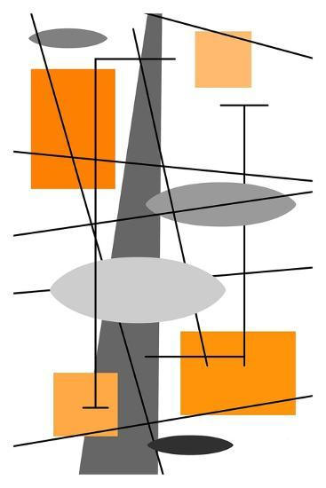 Rauth in Orange-Tonya Newton-Art Print