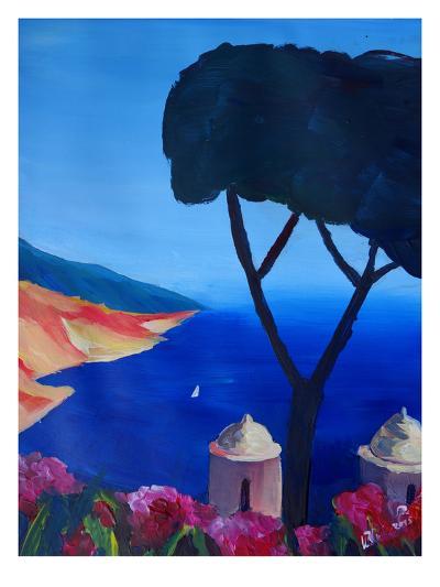 Ravello Amalfi Salerno Wonderful Coast Line 2-M Bleichner-Art Print