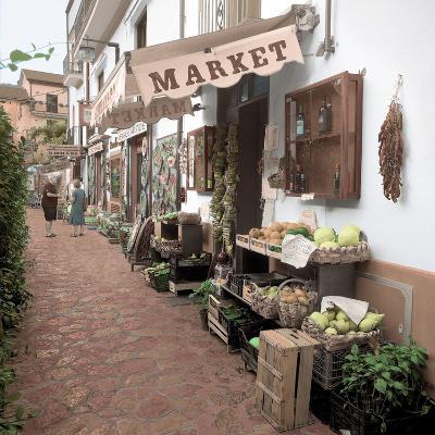 Ravello Market #1-Alan Blaustein-Photographic Print