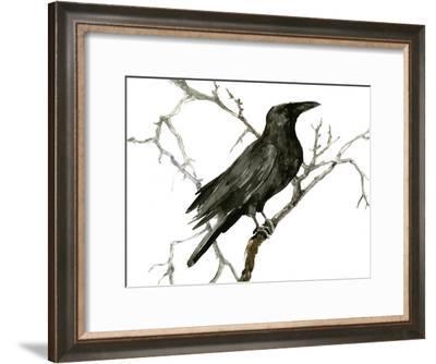Raven 5-Suren Nersisyan-Framed Art Print