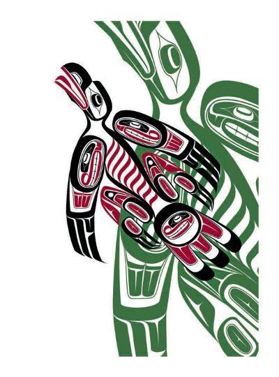 Raven-Todd Baker-Giclee Print