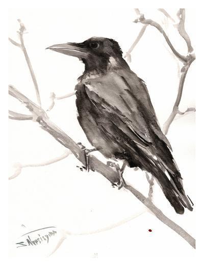 Raven-Suren Nersisyan-Art Print