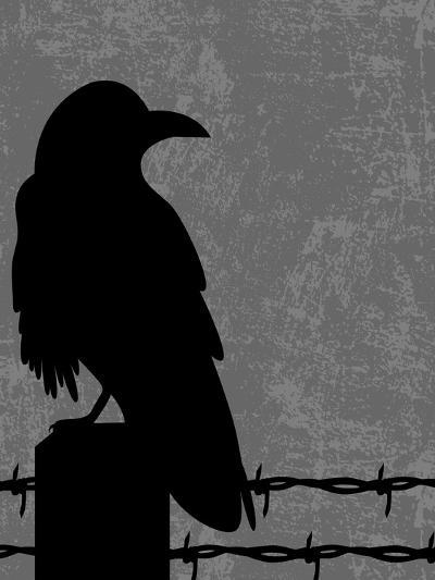Raven-Joanne Paynter Design-Giclee Print