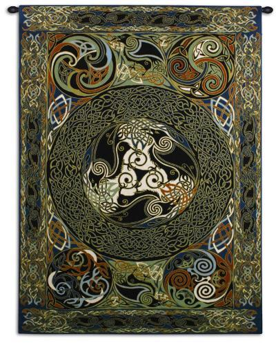 Ravens Panel-Jan Delyth-Wall Tapestry