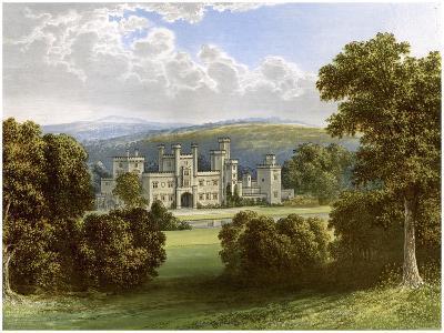 Ravensworth Castle, County Durham, Home of the Earl of Ravensworth, C1880-AF Lydon-Giclee Print