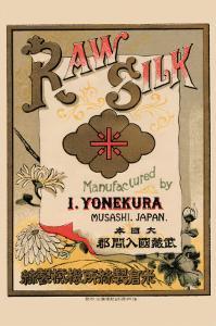 Raw Silk Manufactured By I. Yonekura, Musashi, Japan