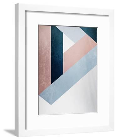 Raw Triangle-Emanuela Carratoni-Framed Art Print