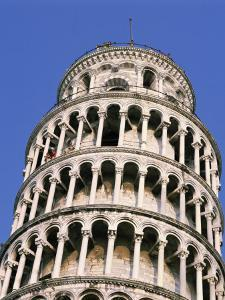 Leaning Tower, or Campanile, 179Ft High, 14Ft Out of Perpendicular, at Pisa, Tuscany, Italy by Rawlings Walter