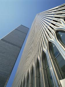 World Trade Center's Twin Towers, Prior to 11 September 2001, Manhattan, New York City, USA by Rawlings Walter