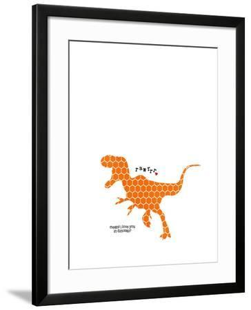 Rawr-Cheryl Overton-Framed Giclee Print