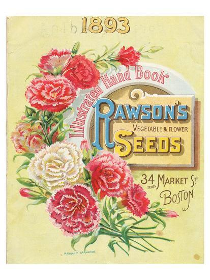Rawson Seed 1893 Boston MA--Art Print