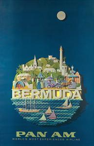 Bermuda - Pan American Airlines by Ray Ameijide