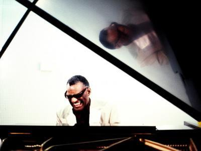 Ray Charles in the Studio at RPM International, Los Angeles