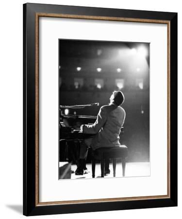 Ray Charles-Bill Ray-Framed Premium Photographic Print