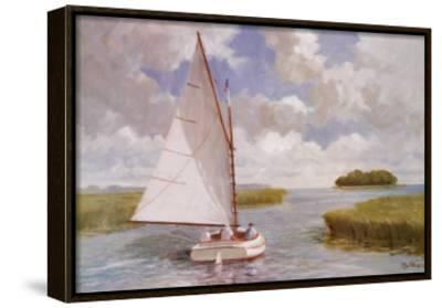 Catboat Through the Marsh