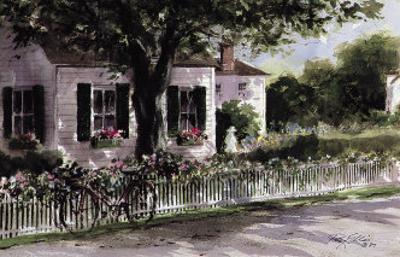 Edgartown Lane by Ray Ellis