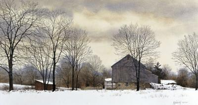 Bucks Winter by Ray Hendershot