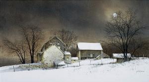 New Moon by Ray Hendershot