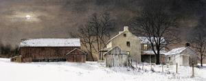 Winter Moon by Ray Hendershot