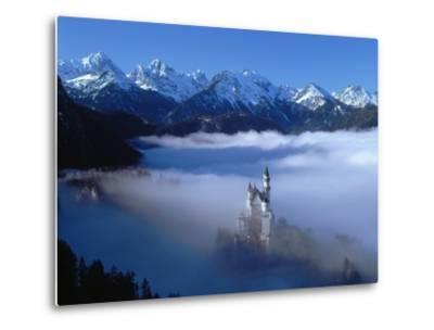 Neuschwanstein Castle Surrounded in Fog