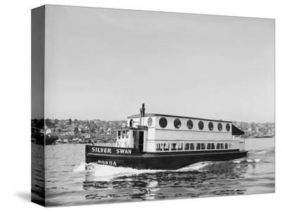 The Silver Swan on Lake Union