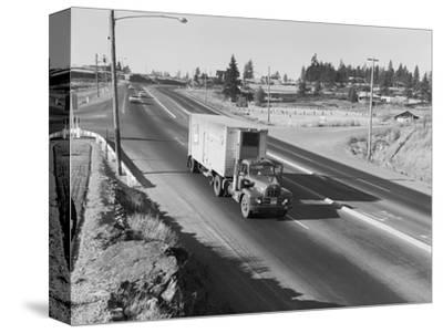 Truck Transporting Delivery to Safeway