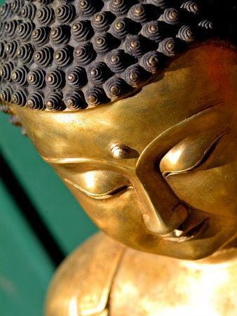 Buddha Faces at Sunday Market, Beijing, China
