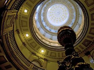 Colorado State Capitol Interior by Ray Laskowitz